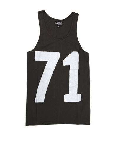 Men Top Tank - Black
