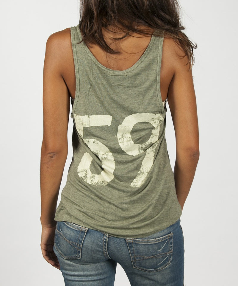 Women Top Tank - Army Green