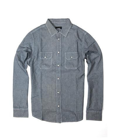 Men Salazar Shirt - Blue