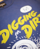 Men Digging for Dirt T-Shirt - Blue
