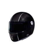 Carbon - Black - Full Face Racer Helmet