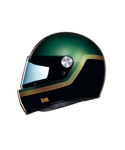 Motordrome - Green - Full Face Racer Helmet
