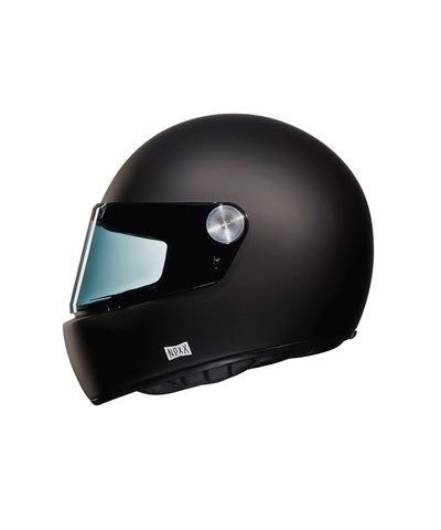 Purist - Mate Black - Full Face Racer Helmet