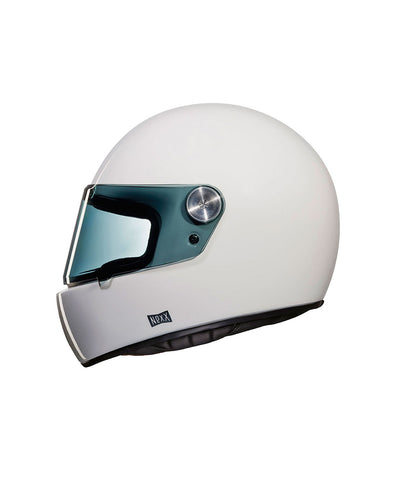 Purist - White - Full Face Racer Helmet