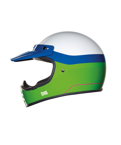 Dirt Fever - Green/Blue - Off Road Helmet