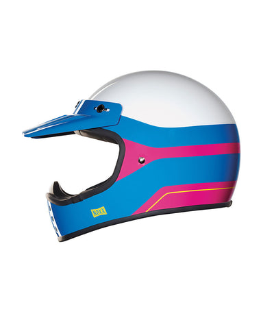Dirt Fever - Pink/Blue - Off Road Helmet