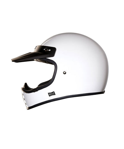 Purist - White - Off Road Helmet
