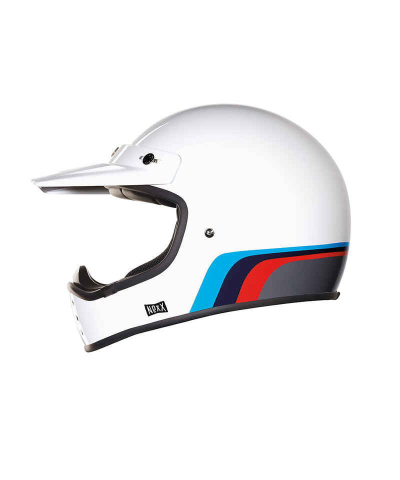 Rockon - White - Off Road Helmet