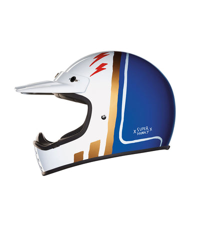 Super Hunky - Blue - Off Road Helmet