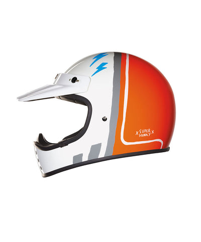 Super Hunky - Orange - Off Road Helmet