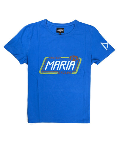 Men Old Racer T-Shirt - Blue