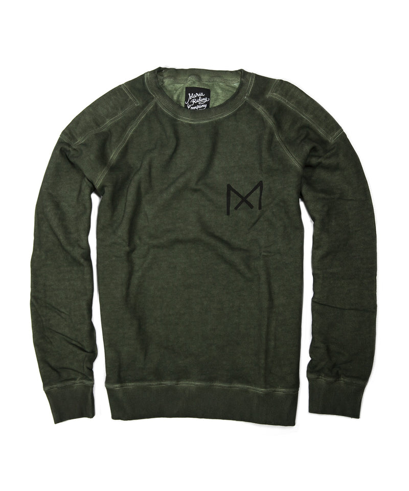 Men Mechanic Heavyweight Sweatshirt - Green