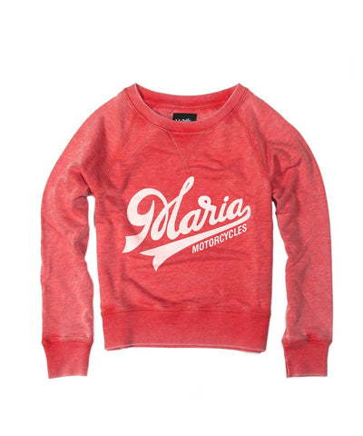 Women Edward Sweatshirt - Red