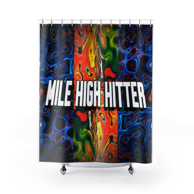 Shower Curtains | Mile High Hitter Club