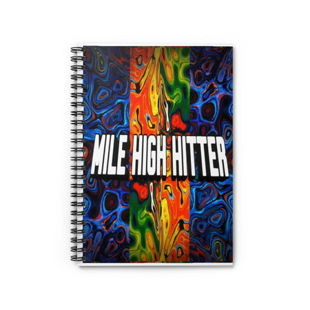 Spiral Notebook - Ruled Line | Mile High Hitter Club