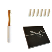 NEW Clean Cut Tip | Brass Hitter | Cool Sleeve 6 pack  | White