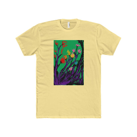 """Flowers"" Premium Fit Crew T-Shirt"