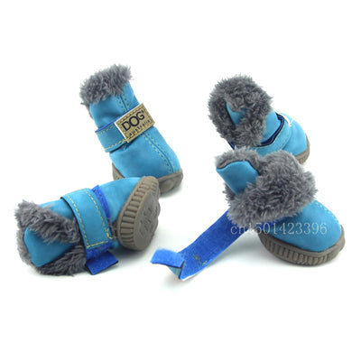 Pet's Winter Snow Booties