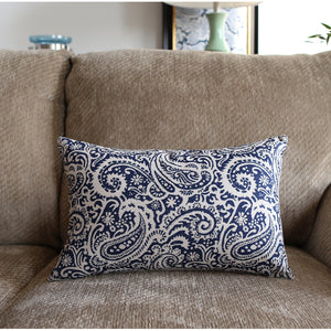 Butah Blue Cushion Cover