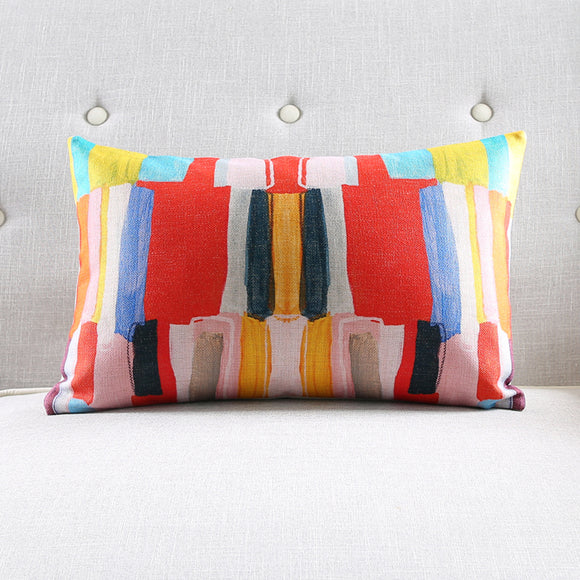 BRIGHT NEW DAY RECTANGLE CUSHION COVER