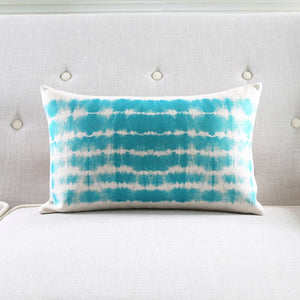 Blue Wash Rectangle Cushion Cover