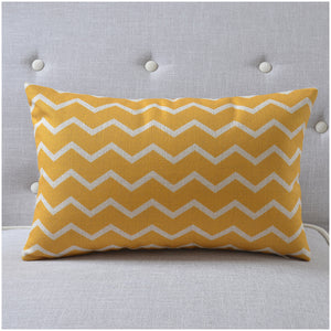 Waves Rectangle Cushion Cover