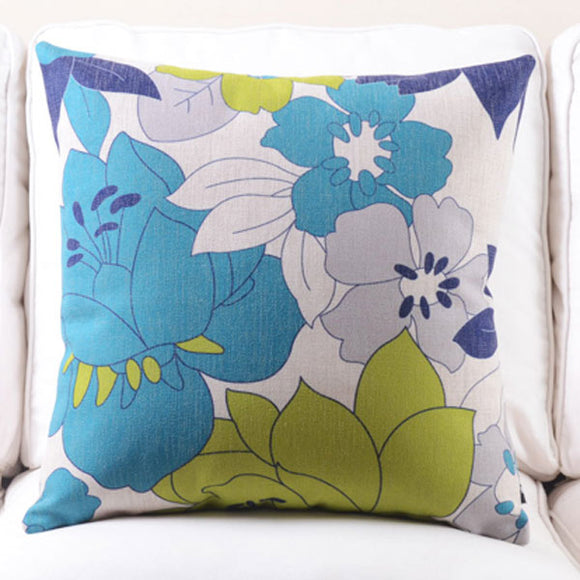 Bahama Blue Cushion cover