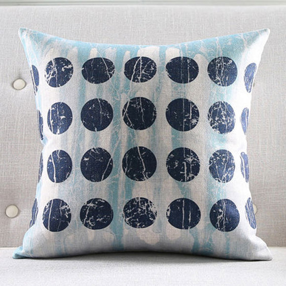 Big Black Dots Cushion cover