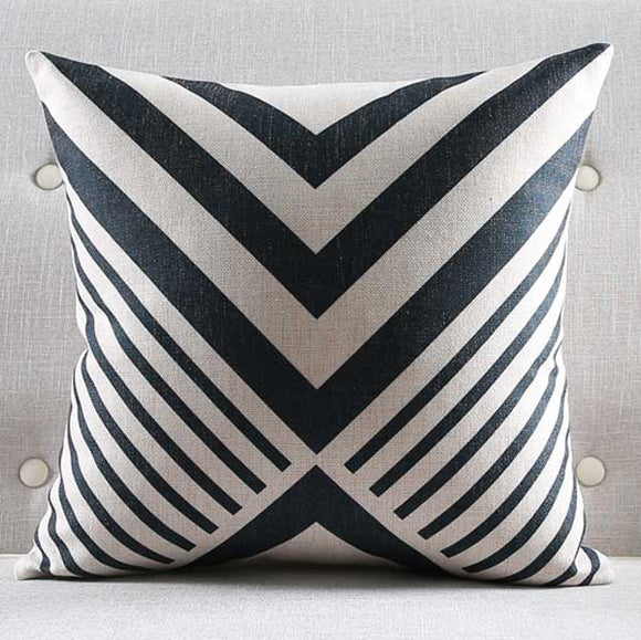 Candy Striped Cushion Cover