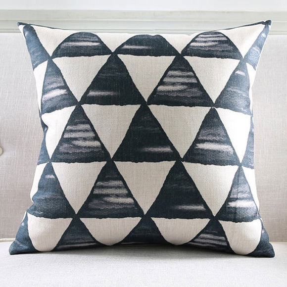 Dunedin Black Cushion cover