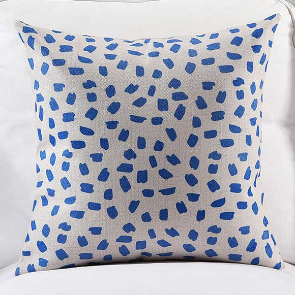 Elegant Dots Cushion Cover