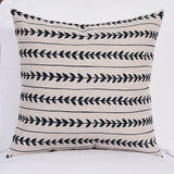 Fluted Arrows Cushion Cover