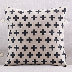 Hot Cross Cushion cover