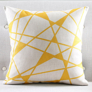 Lily Yellow Cushion cover