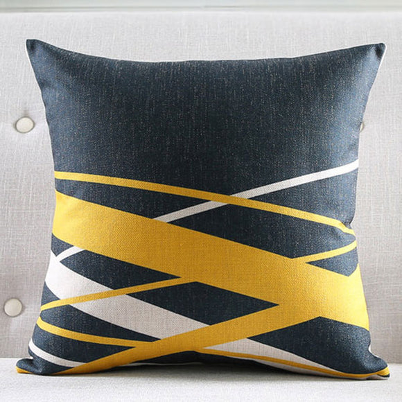Modern Waves Cushion Cover
