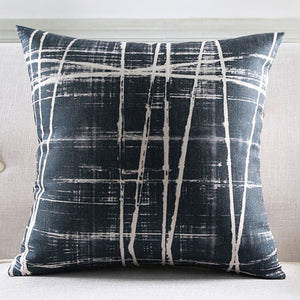 Nora Black Cushion cover