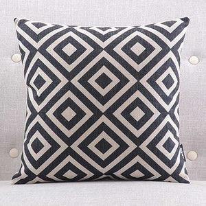 Oliver Black Cushion Cover