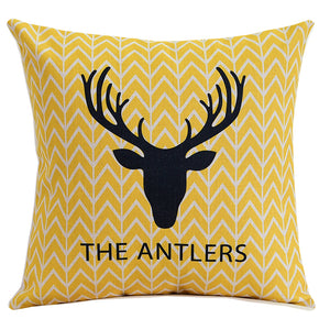 The Antlers Chevron Cushion Cover