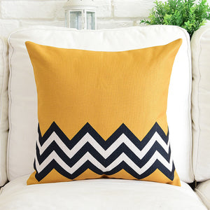 Zara Black Chevron Cushion Cover