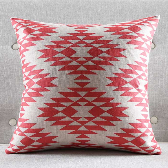 Scarlet Temple Cushion Cover