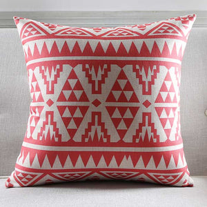 Scarlet Triangular Cushion Cover