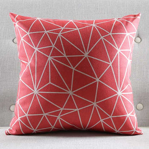 Scarlet Zigzag Cushion Cover