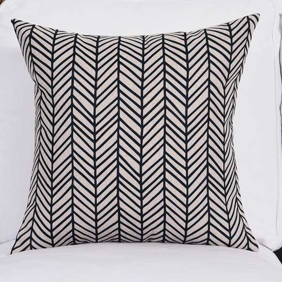 Serried Stripes Cushion Cover