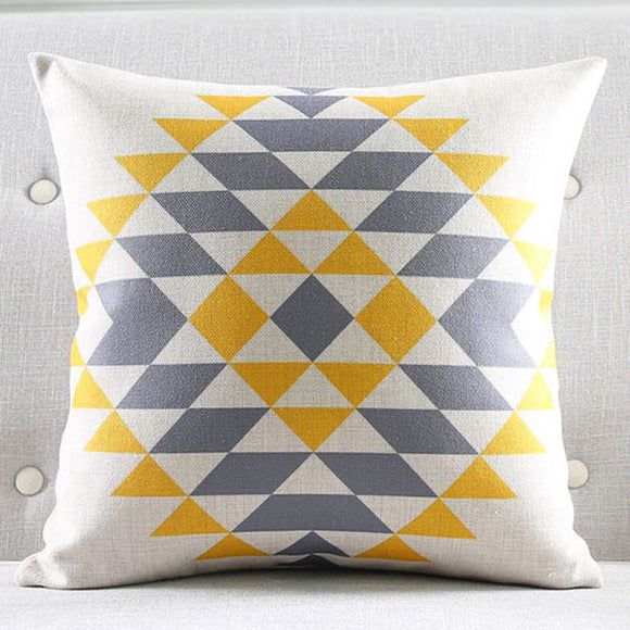 Sophia Rhombus Cushion Cover