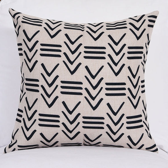 Twisted Lines Cushion Cover