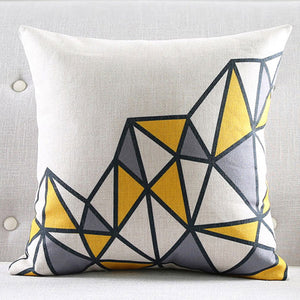 Up hill Cushion cover