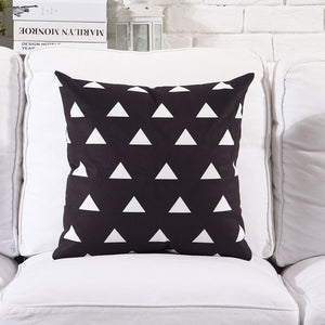 White Hills Cushion Cover