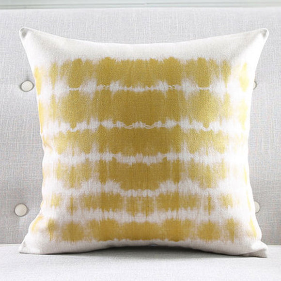 Yellow Wash Cushion Cover