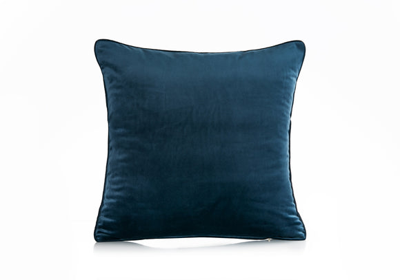 AVI DEEP OCEAN BLUE CUSHION COVER