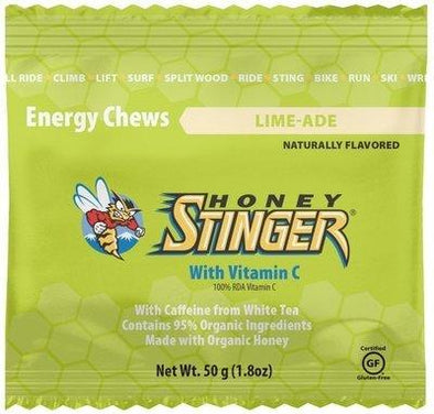 HONEY STINGER CHEWS LIME-ADE (CAFEINA)